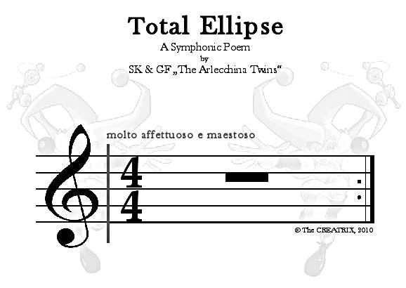 Die Ellipse (Partitur)