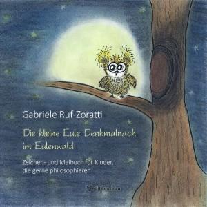 """Cover zum Malbuch """"Die kleine Eule Denkmalnach"""""""