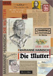 """Marianne Hainisch: """"Die Mutter"""" Umschlagentwurf"""