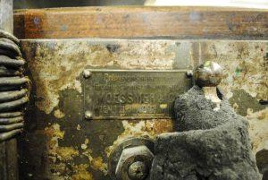 Steindruckpresse Foto 2